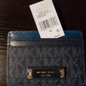 Michael Kors Card Holder-MFSR$48/BN